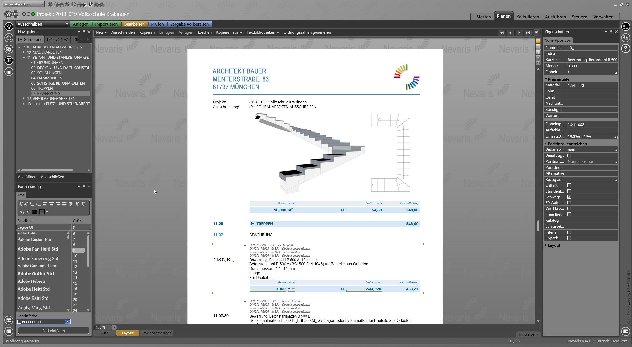 Nemetschek UX Design Beispiel 3